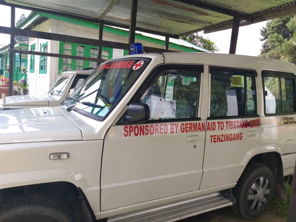 Krankenwagen in Arunachal Pradesh