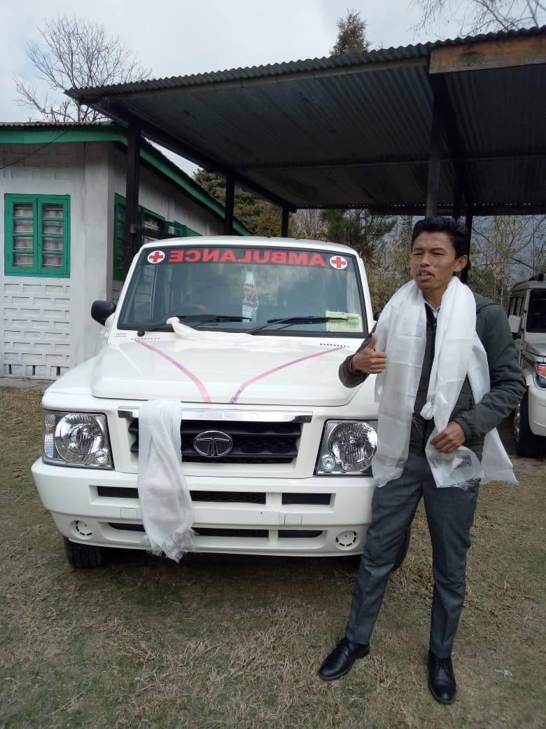 Krankenwagen Indien
