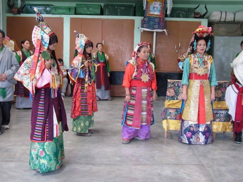 Tibetische Oper Kostüme Kultur