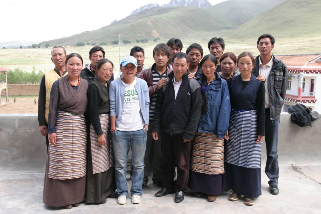 Gruppenfoto Lehrer in Tibet