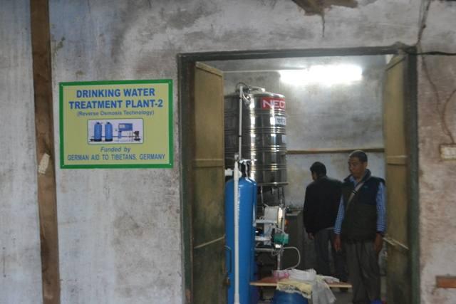 zweite Trinkwasseranlage inMussoorie