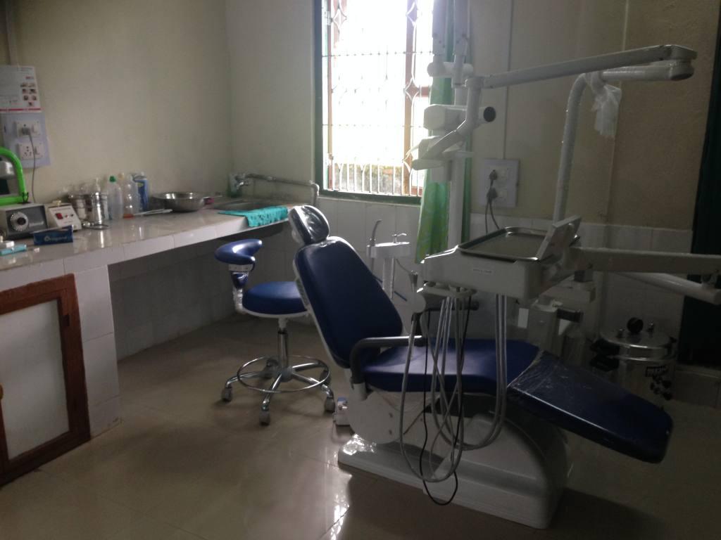 Neuer Zahnarztstuhl in der dental Clinic in Miao