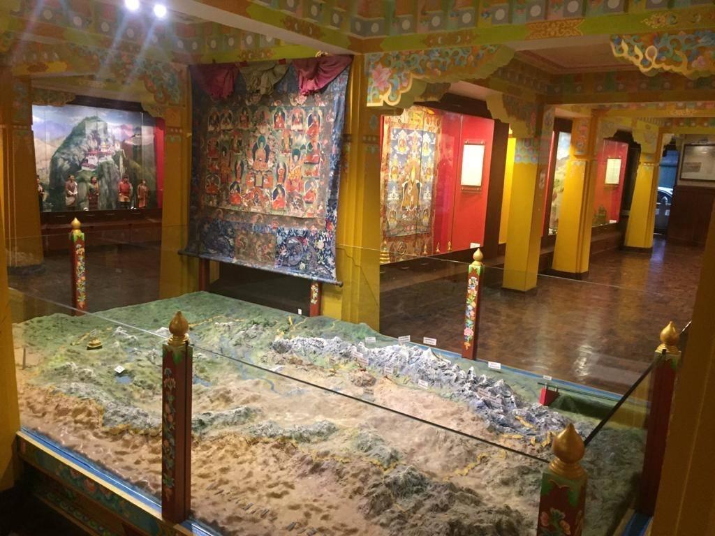 Ausstellung im Museum Darjeeling