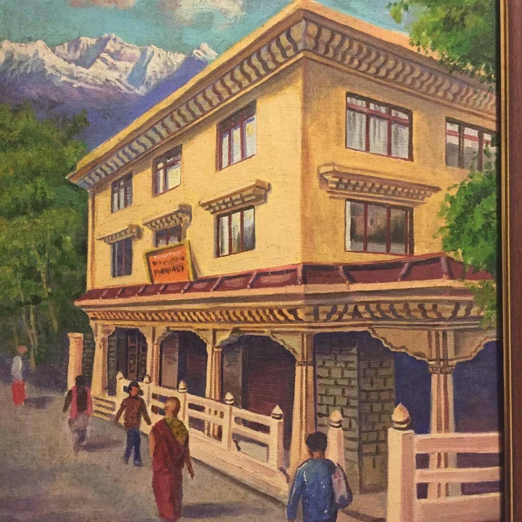 Bild gemalt Museum Darjeeling