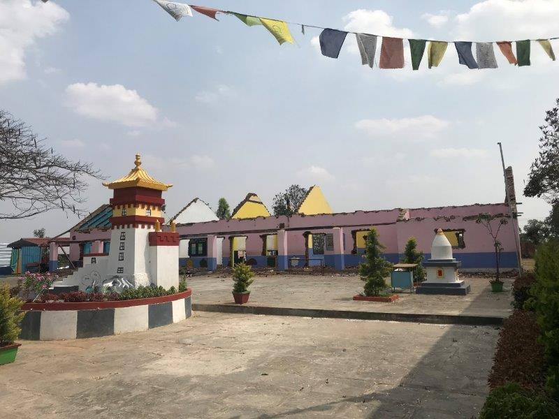 Sambhota Tibetan Primary School Haus in Bau