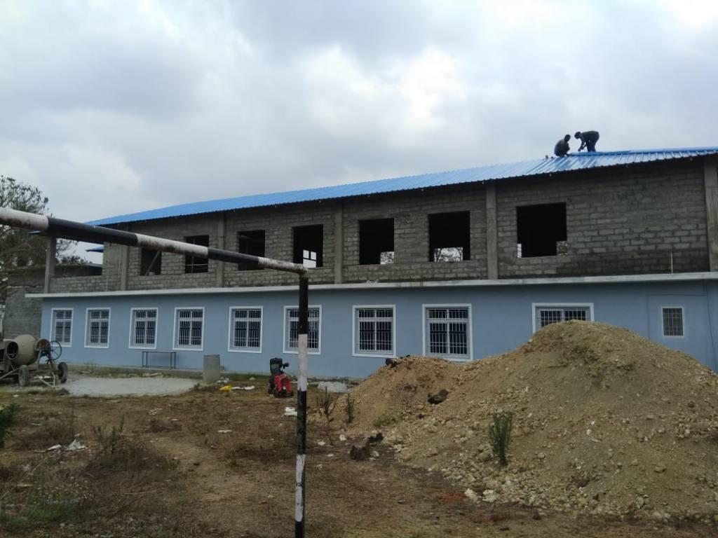 Neubau von außen